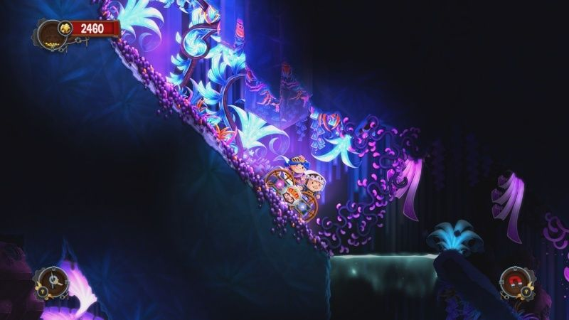 Review: Chariot (Wii U eShop) Lumino10