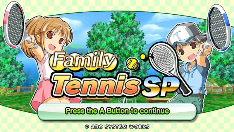 Review: Family Tennis SP (Wii U eShop) Screen10