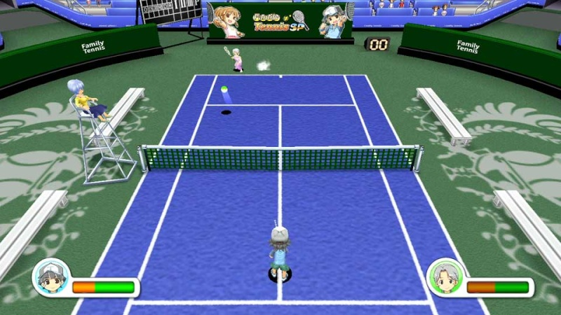 Review: Family Tennis SP (Wii U eShop) Screen11