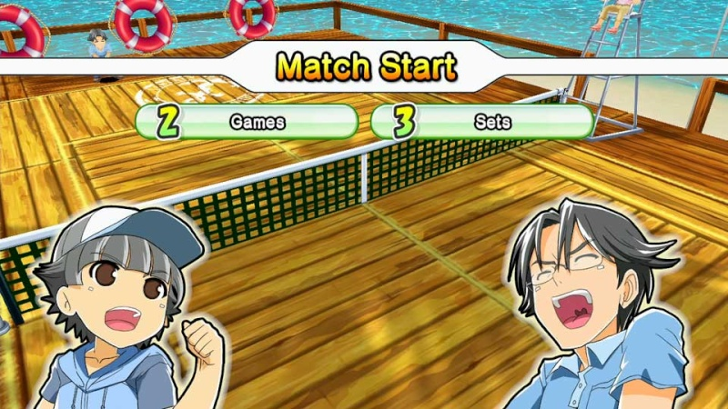 Review: Family Tennis SP (Wii U eShop) Screen12