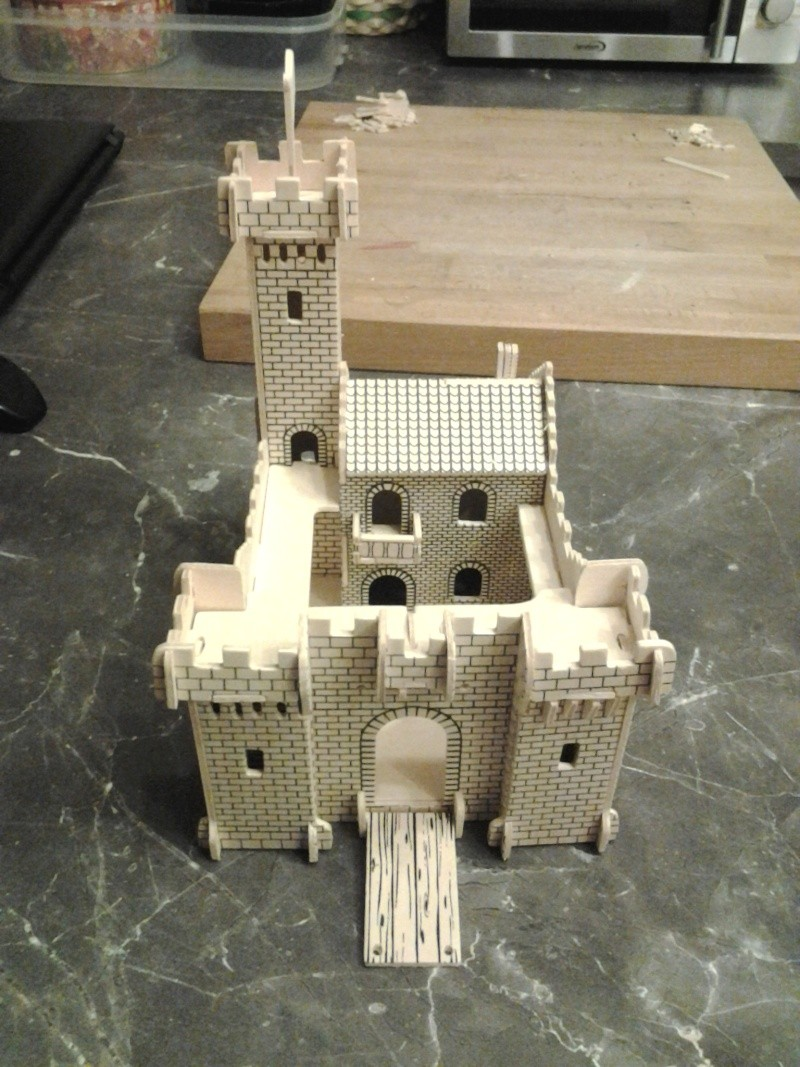 Burg aus Holz zur kompletten Überarbeitung 2014-112