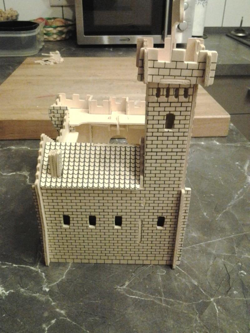 Burg aus Holz zur kompletten Überarbeitung 2014-114