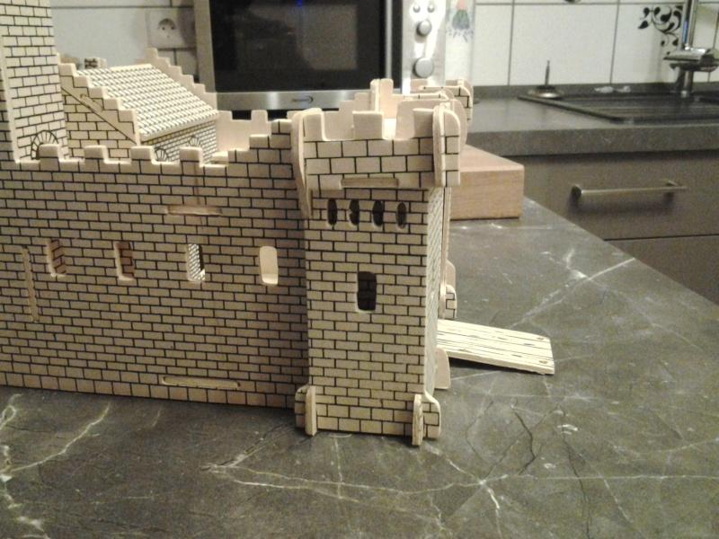 Burg aus Holz zur kompletten Überarbeitung 2014-116