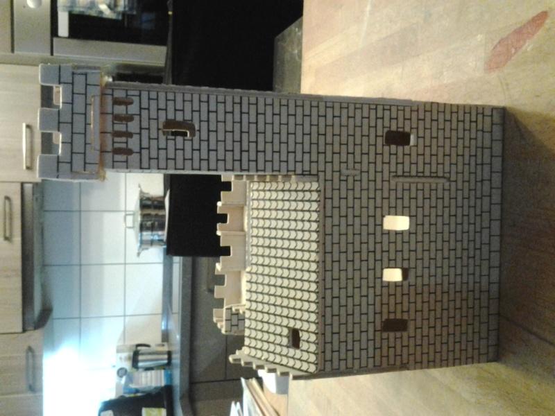 Burg aus Holz zur kompletten Überarbeitung 2015-013