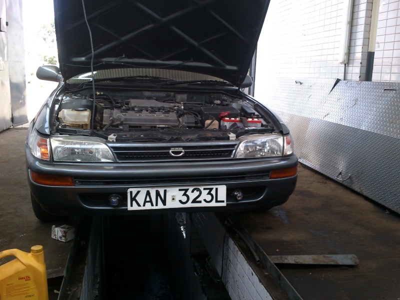 GB's Corolla AE100 SE Limited from Kenya  Mybuil24