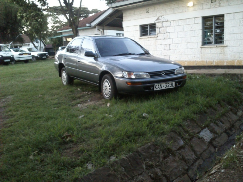 GB's Corolla AE100 SE Limited from Kenya  Mybuil37