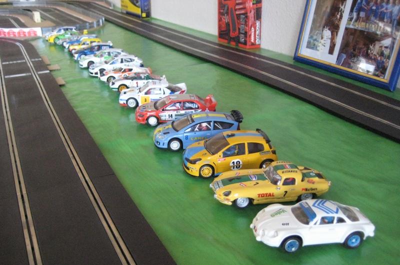 Etape geo 2 : la 1er manche pour apprécier les voitures et se familiariser au slot. Img_5314