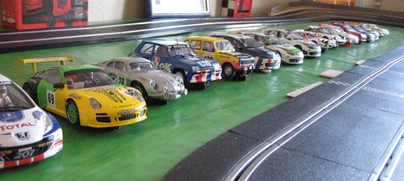 Etape geo 2 : la 1er manche pour apprécier les voitures et se familiariser au slot. Img_5316
