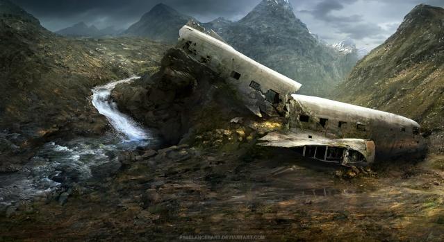 Banque d'images. Plane_10