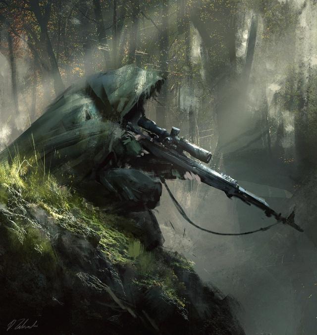 Banque d'images. Sniper10