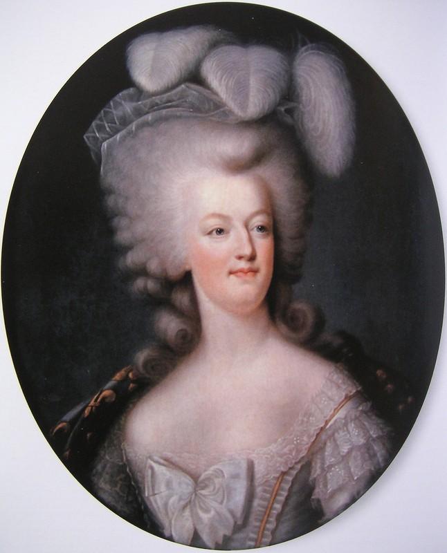 Portrait de la Reine Marie-Antoinette par Joseph Boze - Page 4 23293010