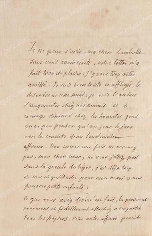 Vente de Souvenirs Historiques - aux enchères plusieurs reliques de la Reine Marie-Antoinette 66f88610
