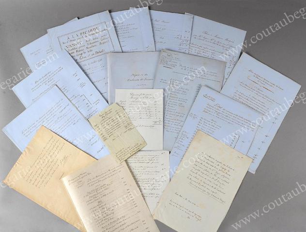 Vente de Souvenirs Historiques - aux enchères plusieurs reliques de la Reine Marie-Antoinette 6b5ab710