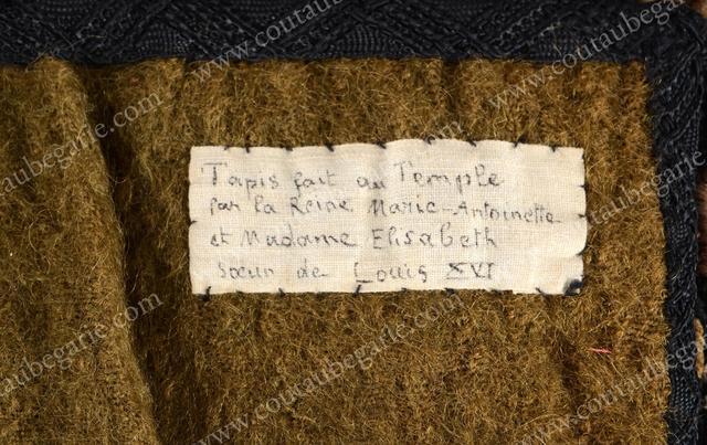 Vente de Souvenirs Historiques - aux enchères plusieurs reliques de la Reine Marie-Antoinette 6d64a610