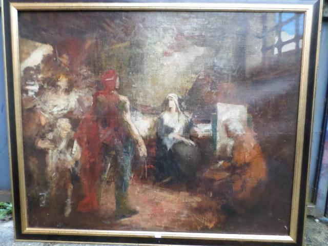 A vendre: tableaux Marie-Antoinette, Versailles et XVIIIe siècle 70f90c10