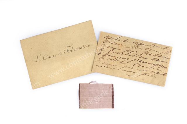 Vente de Souvenirs Historiques - aux enchères plusieurs reliques de la Reine Marie-Antoinette 87798910