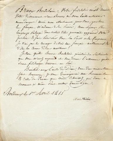 Vente de Souvenirs Historiques - aux enchères plusieurs reliques de la Reine Marie-Antoinette - Page 2 98604c10