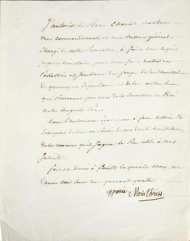 Vente de Souvenirs Historiques - aux enchères plusieurs reliques de la Reine Marie-Antoinette - Page 2 Acc5b010