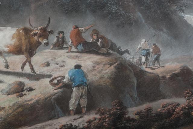 A vendre: tableaux Marie-Antoinette, Versailles et XVIIIe siècle D01bc510
