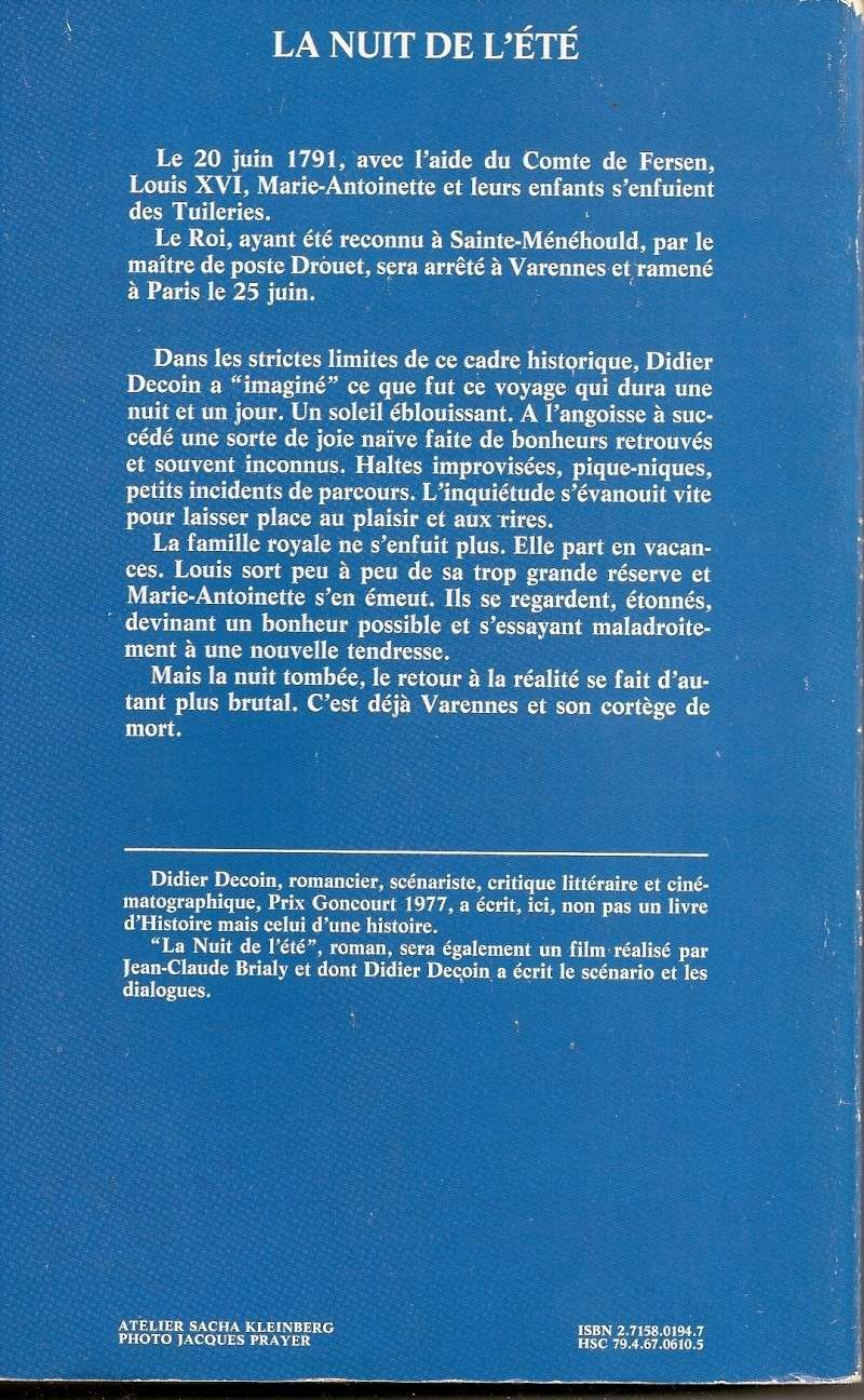 La Nuit de l'été (Marina Vlady) de Jean-Claude Brialy (1979) Numari11