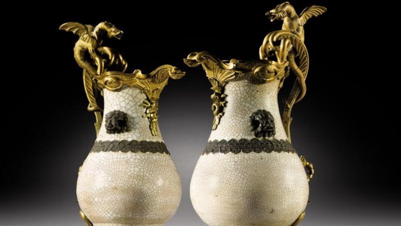 Vente prestigieuse de pièces du Château de Réveillon par la Famille des Ducs de Mortemart Pho3ec10
