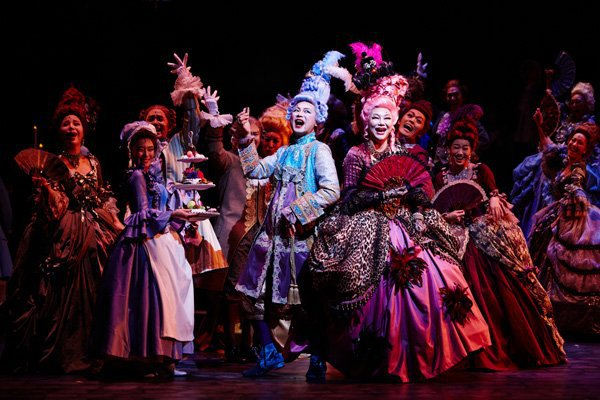 "Spectacle ""Marie Antoinette"" au Charlotte Theater de Seoul Photo511"