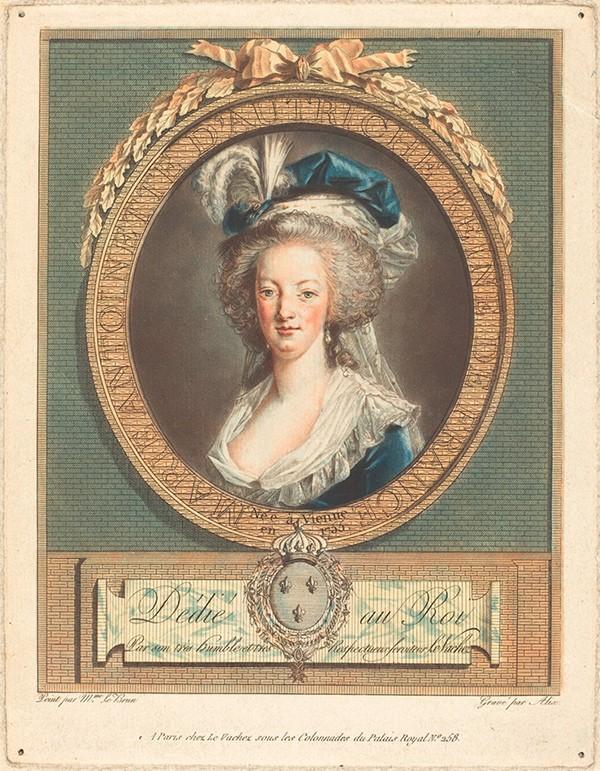 Marie-Antoinette au livre en robe bleue - Page 2 R-201010