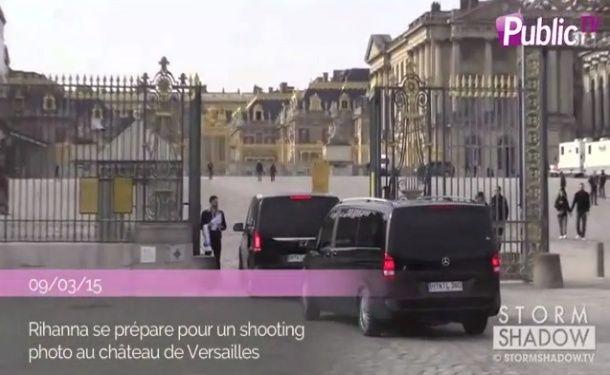 Rihanna en shooting au Château de Versailles Sans_t36