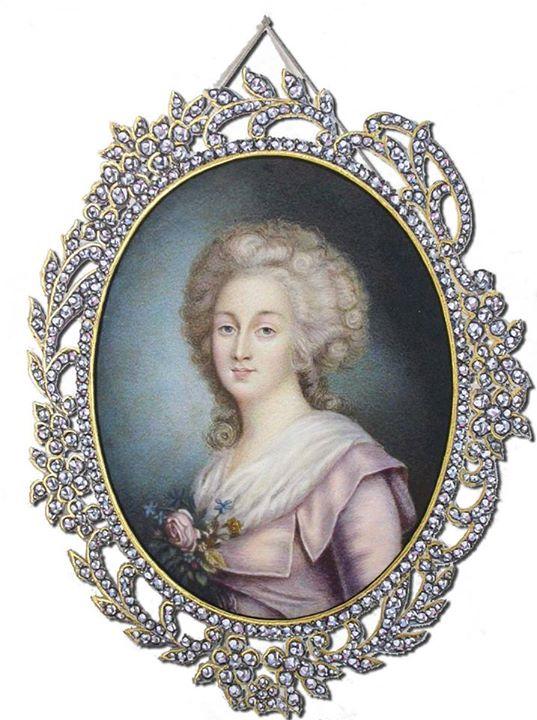 A vendre: miniatures de Marie Antoinette et de ses proches - Page 4 The_tr12