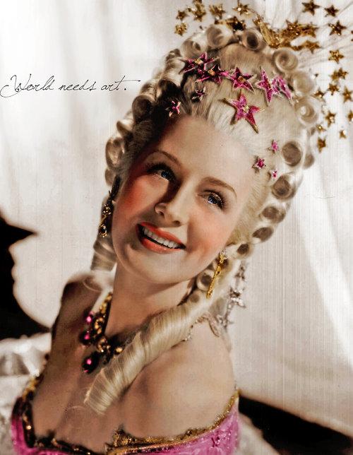 Marie Antoinette avec Norma Shearer (Van Dyke) - Page 8 Tumblr10
