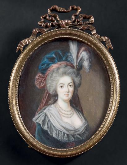 Marie-Antoinette au livre en robe bleue - Page 2 Tumblr15