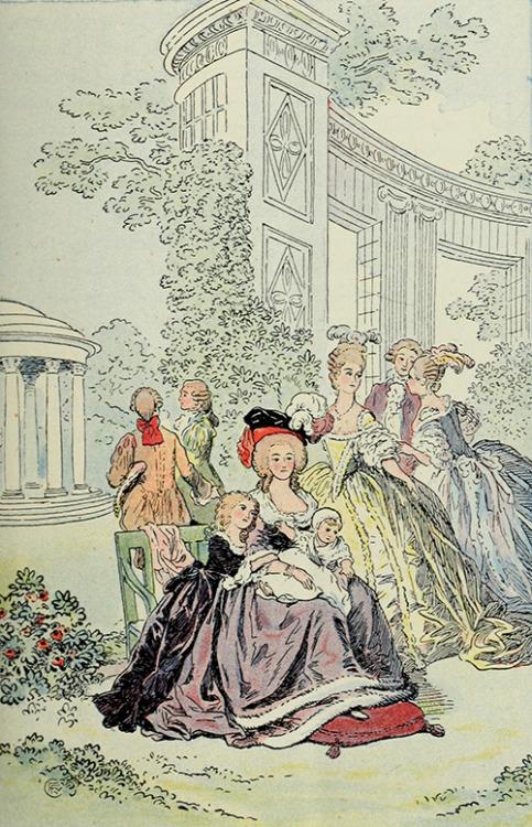 Déclinaisons faites d'après le portrait de Marie Antoinette et ses enfants de Vigée Lebrun Tumblr40