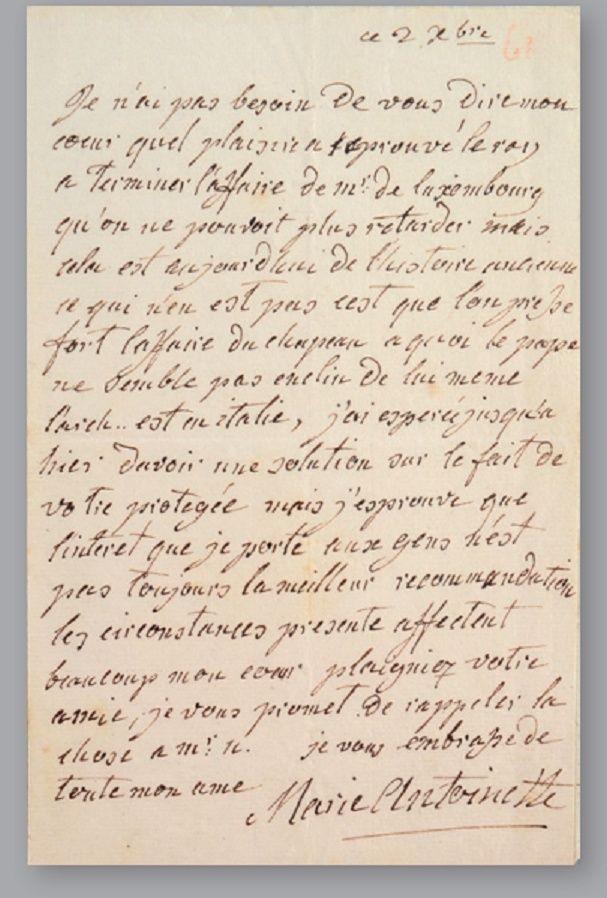 Vente de Souvenirs Historiques - aux enchères plusieurs reliques de la Reine Marie-Antoinette Zcorr11