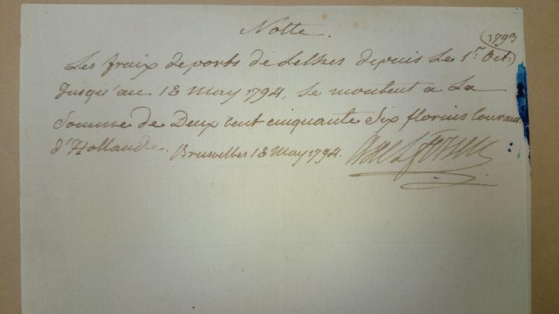 Ecrits du comte Hans Axel von Fersen Zferd10