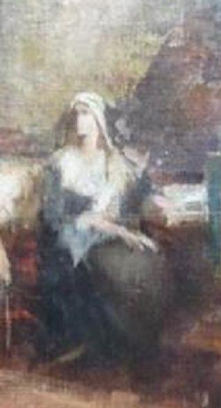 A vendre: tableaux Marie-Antoinette, Versailles et XVIIIe siècle Zte10