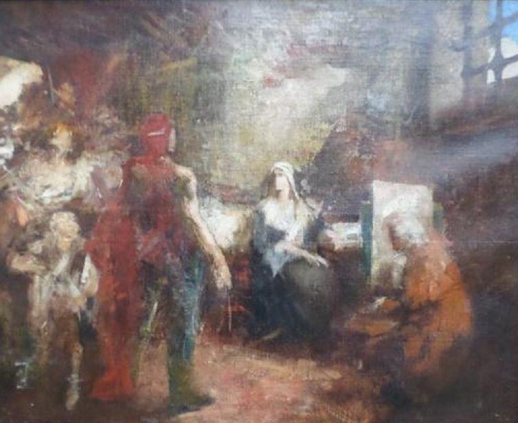 A vendre: tableaux Marie-Antoinette, Versailles et XVIIIe siècle Zte11