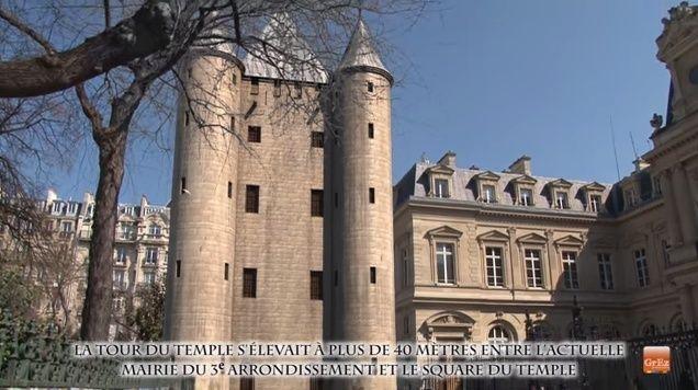 Une reconstitution en 3D de la Tour du Temple Ztempl12