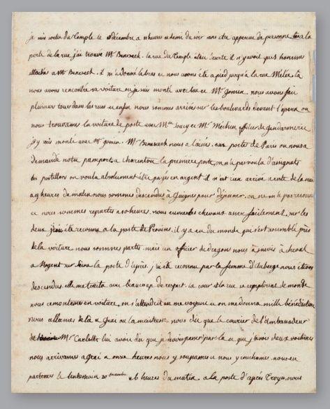 Vente de Souvenirs Historiques - aux enchères plusieurs reliques de la Reine Marie-Antoinette Zzz14