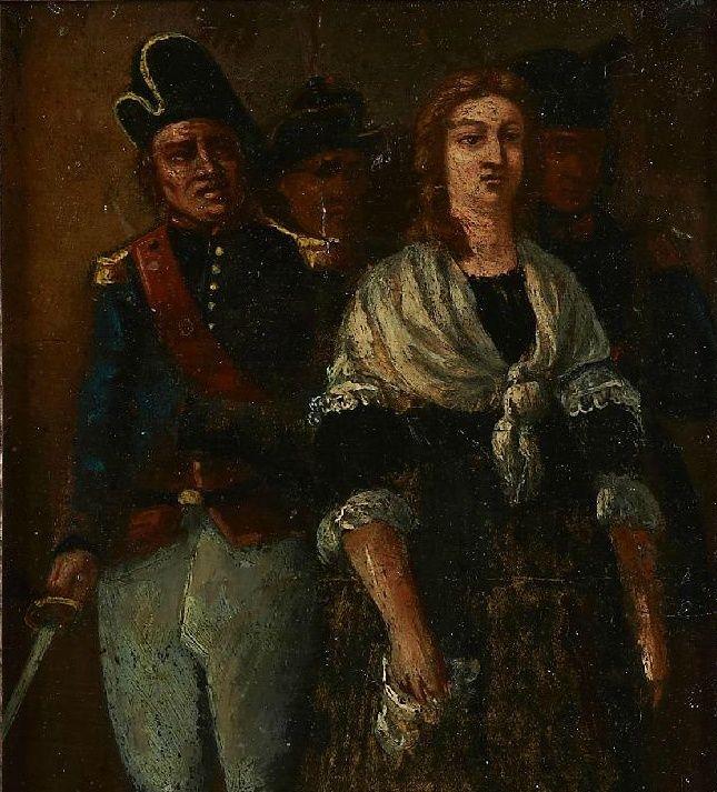 A vendre: tableaux Marie-Antoinette, Versailles et XVIIIe siècle Zzzzz16