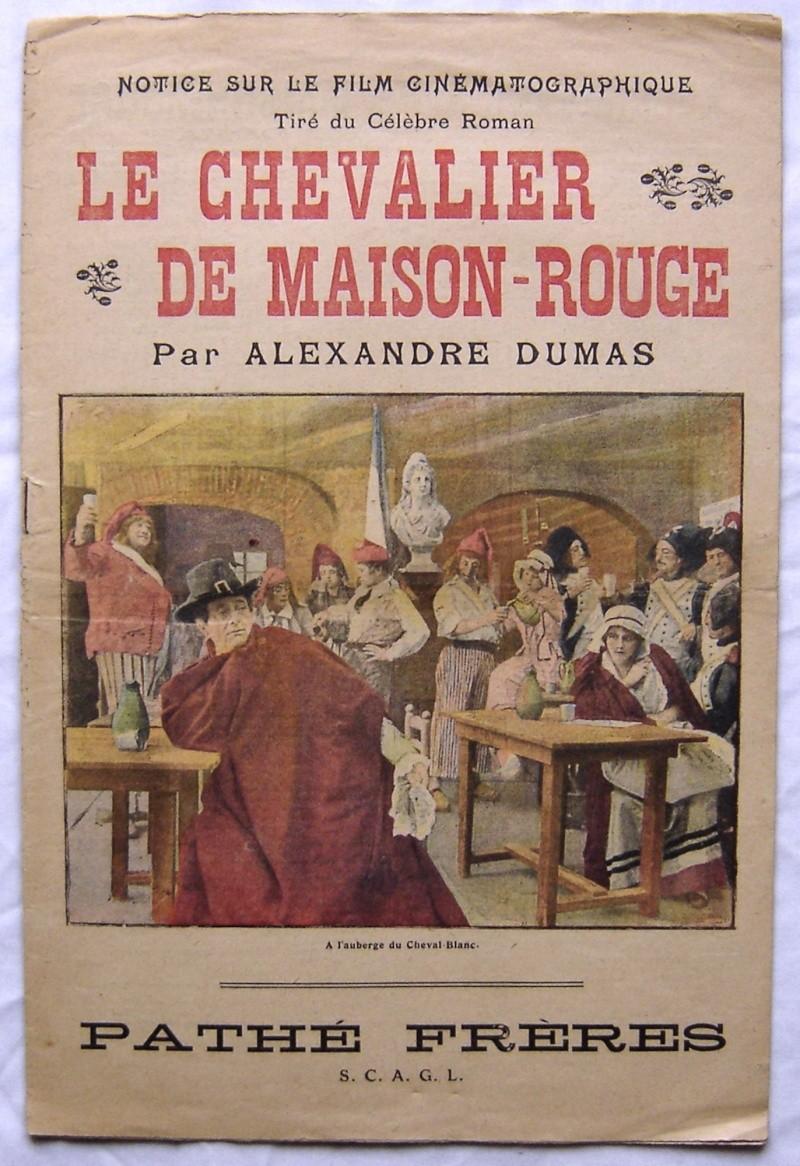 Le chevalier de Maison Rouge avec Lea Piron par Albert Capellani - 1913 Zzzzzz17