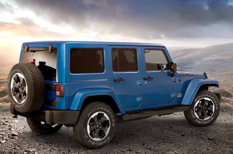 """Jeep JK Unlimited """"Polar Edition"""" et sa petite sœur!!! 2014-j11"""