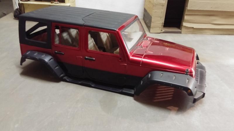 """Jeep JK Unlimited """"Polar Edition"""" et sa petite sœur!!! 20150116"""
