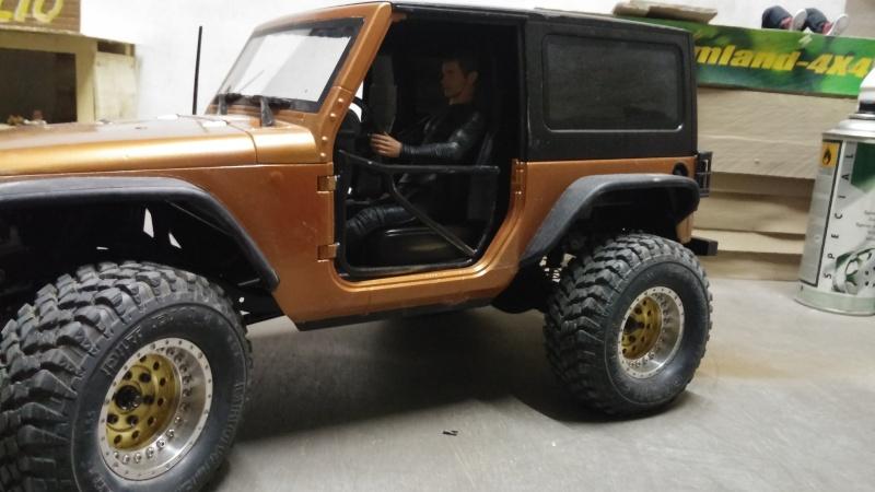 """Jeep JK Unlimited """"Polar Edition"""" et sa petite sœur!!! - Page 3 20150163"""