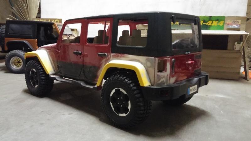 """Jeep JK Unlimited """"Polar Edition"""" et sa petite sœur!!! - Page 3 20150169"""