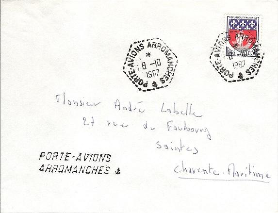 ARROMANCHES (PORTE-AVIONS) Arroma10