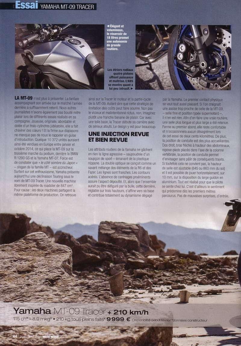 Essais Presse : Moto Revue Décembre 2014 - MT09 Tracer Mr_feu12