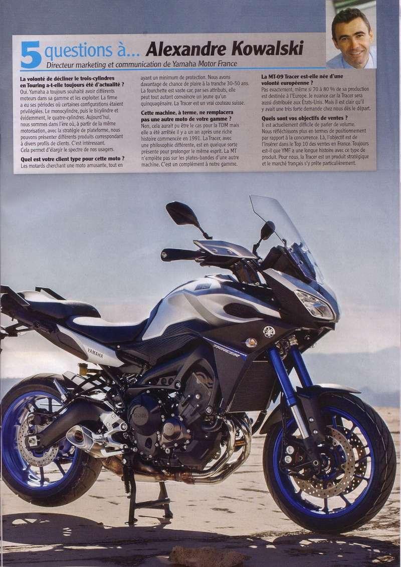 Essais Presse : Moto Revue Décembre 2014 - MT09 Tracer Mr_feu13