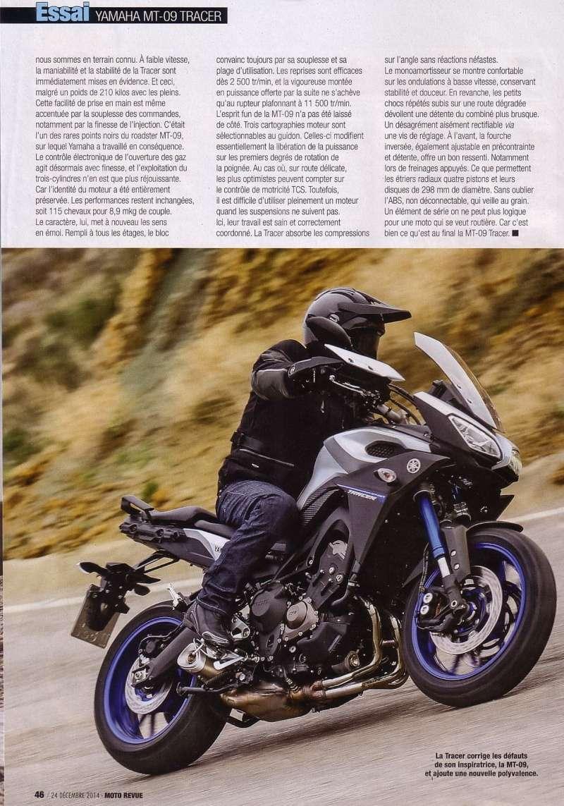 Essais Presse : Moto Revue Décembre 2014 - MT09 Tracer Mr_feu14
