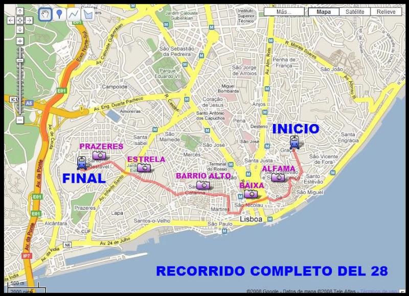 Links Transporte Público Lisboa Recorr10