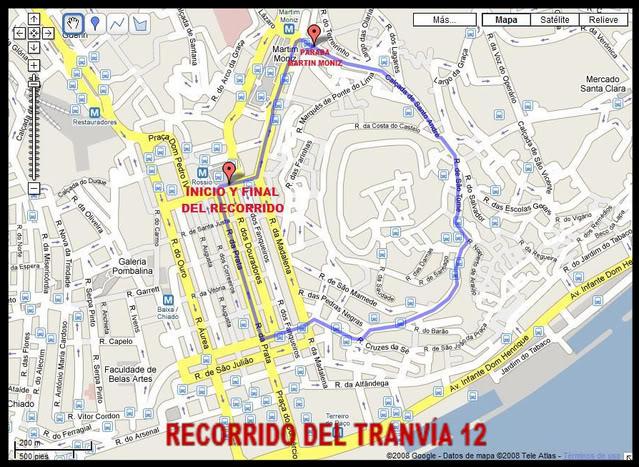 Links Transporte Público Lisboa Recorr11